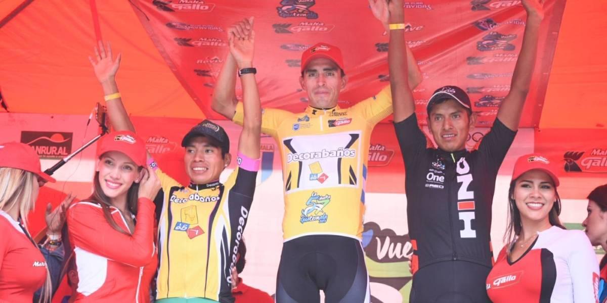 Guatemala celebra el título de la Vuelta con Manuel Rodas