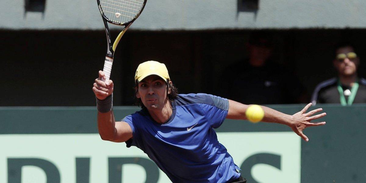 A Julio Peralta no le alcanzó para pasar la segunda ronda del dobles de Masters 1000 de París