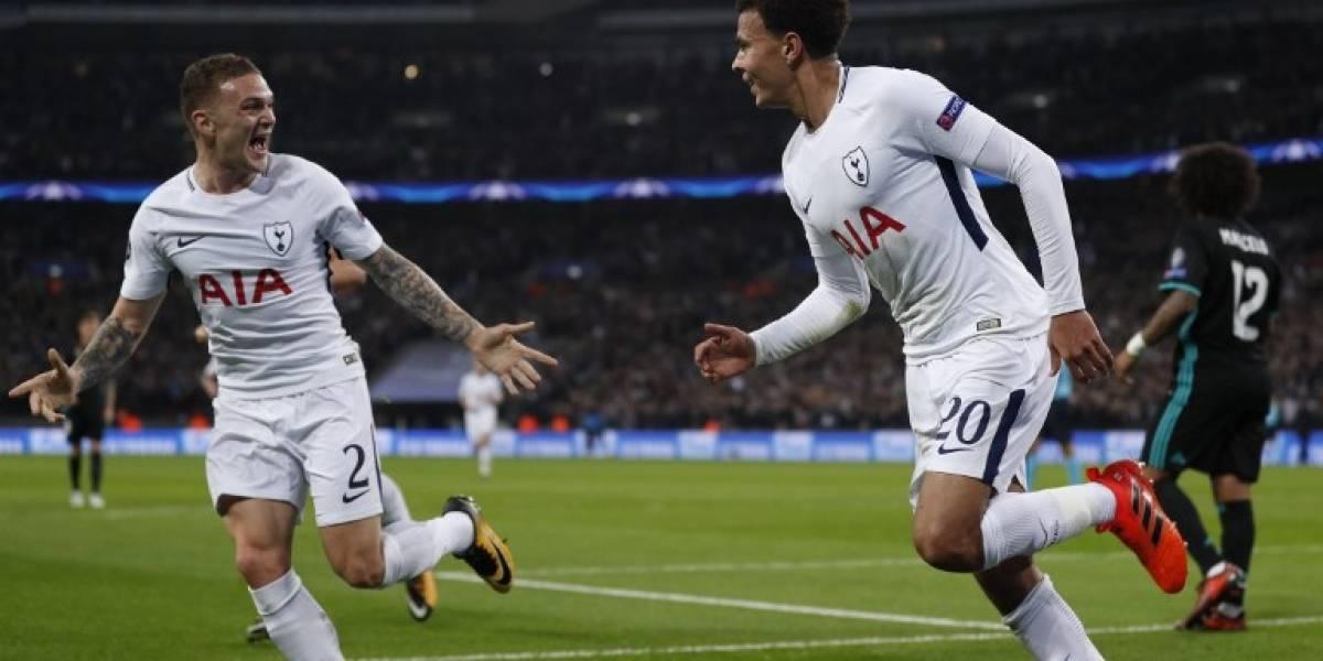 El Tottenham golea al campeón, que acrecenta su crisis