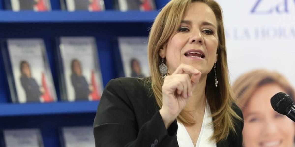 Margarita Zavala confiesa que coincide con AMLO