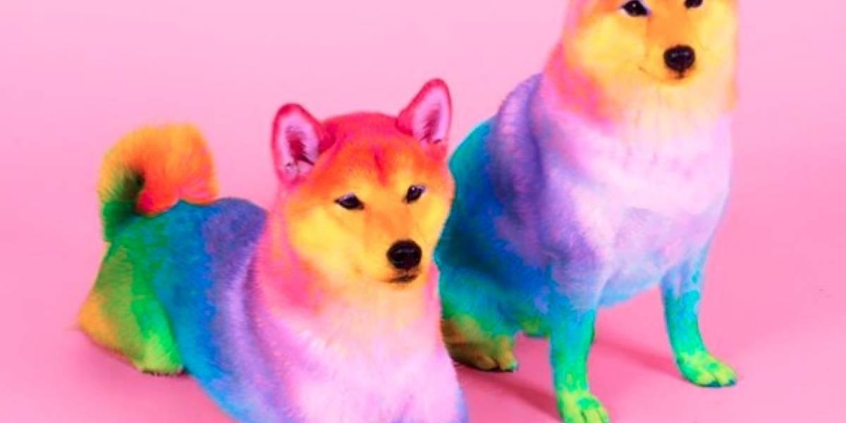 El monumento al color hecho por un diseñador de Nickelodeon