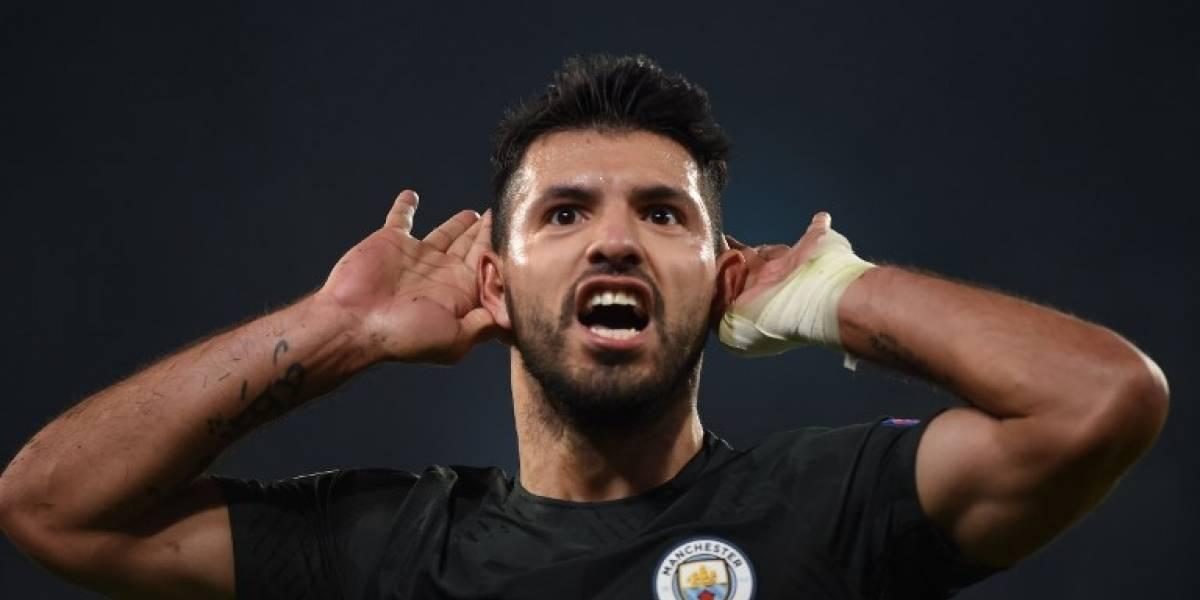 Manchester City consigue su clasificación en la Champions con un histórico Agüero