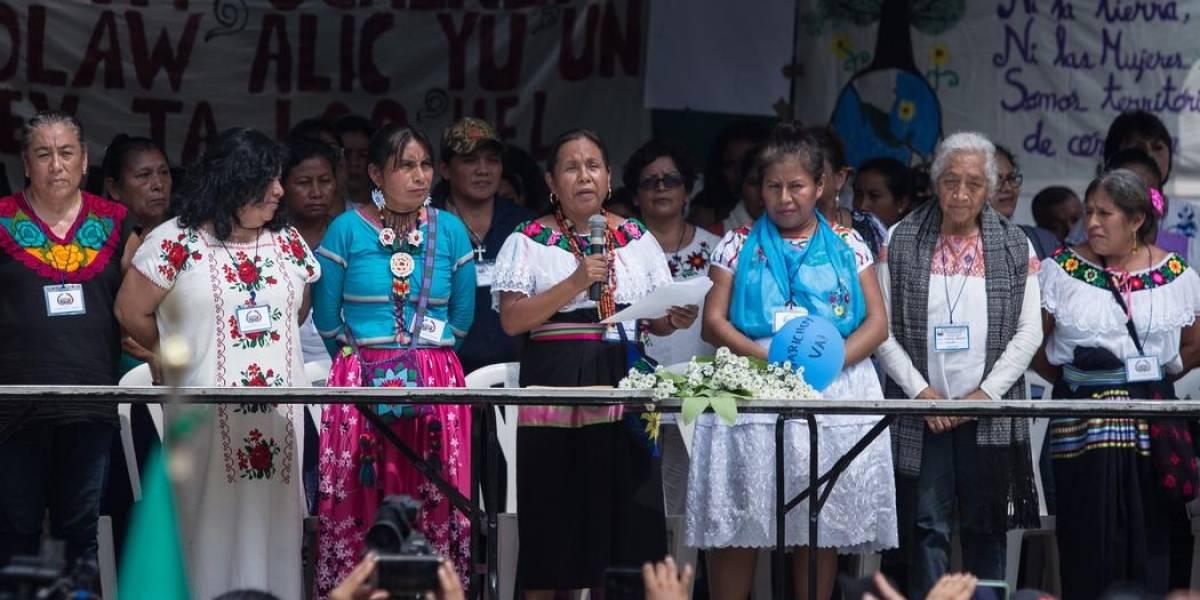 'Llegó la hora de las mujeres', advierte Marichuy, la candidata indígena mexicana