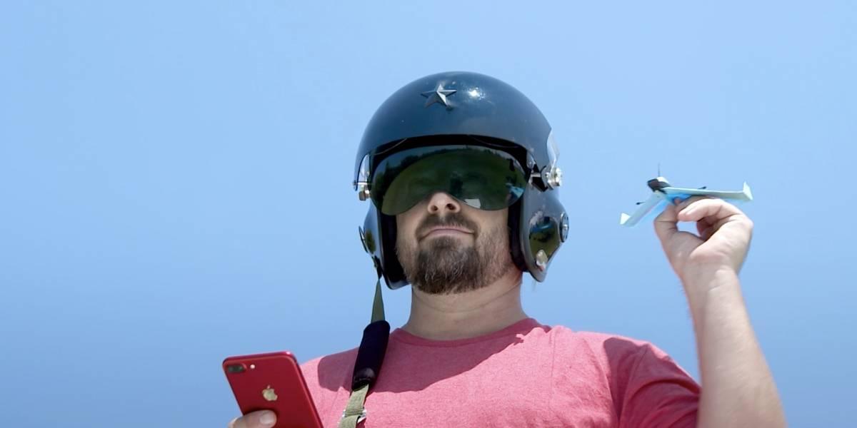 Este gadget convierte un avión de papel en un dron