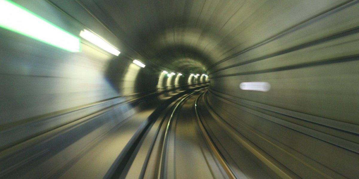 Ideas para disfrutar la futura Línea 6: irse en el primer vagón y tomar una foto similar a esta