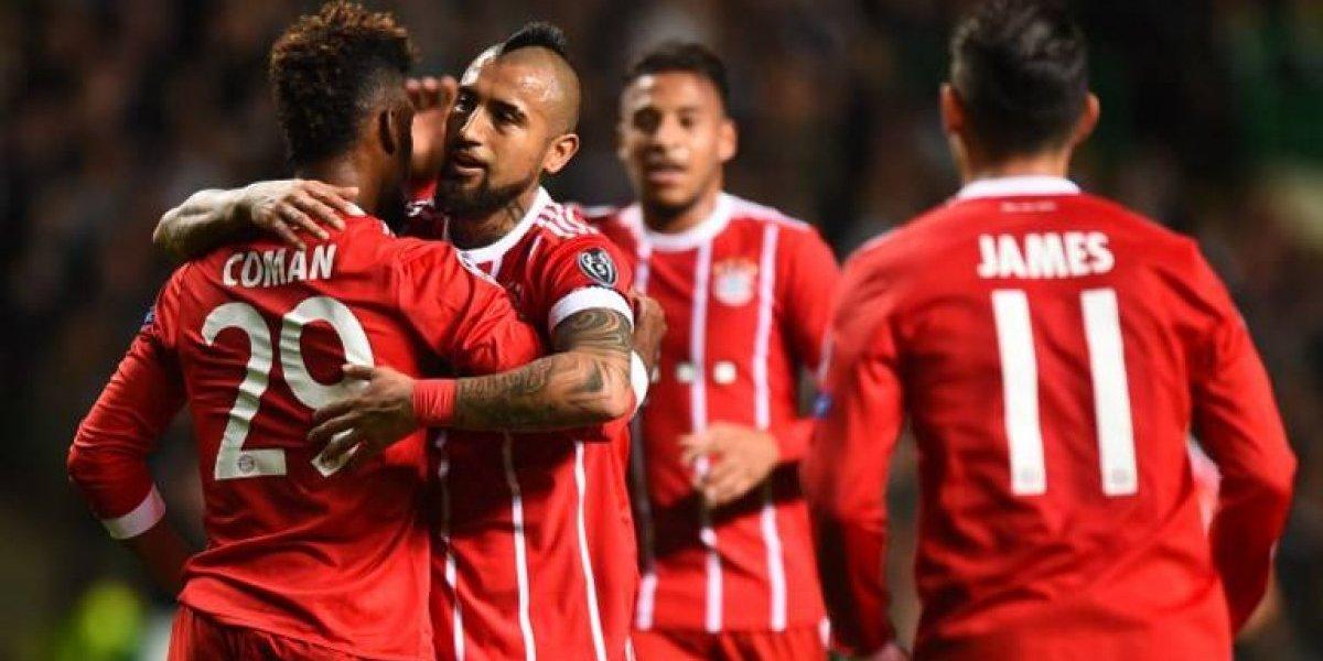 Bayern Munich le sigue prestando ropa a Arturo Vidal por supuesta pelea en una discoteque