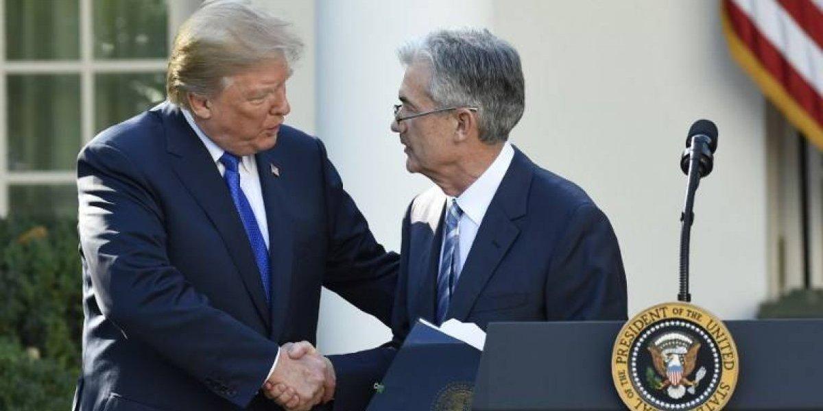 Jerome Powell fue la selección de Donald Trump para liderar la Reserva Federal