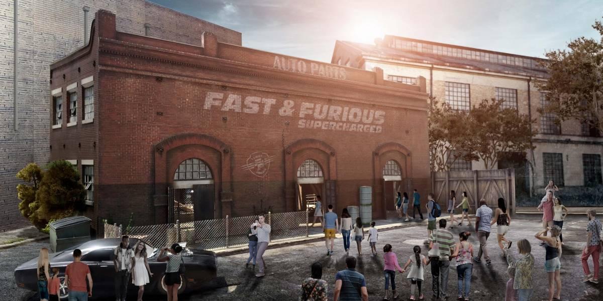 Adrenalina de Fast & Furious llega a Universal Studios