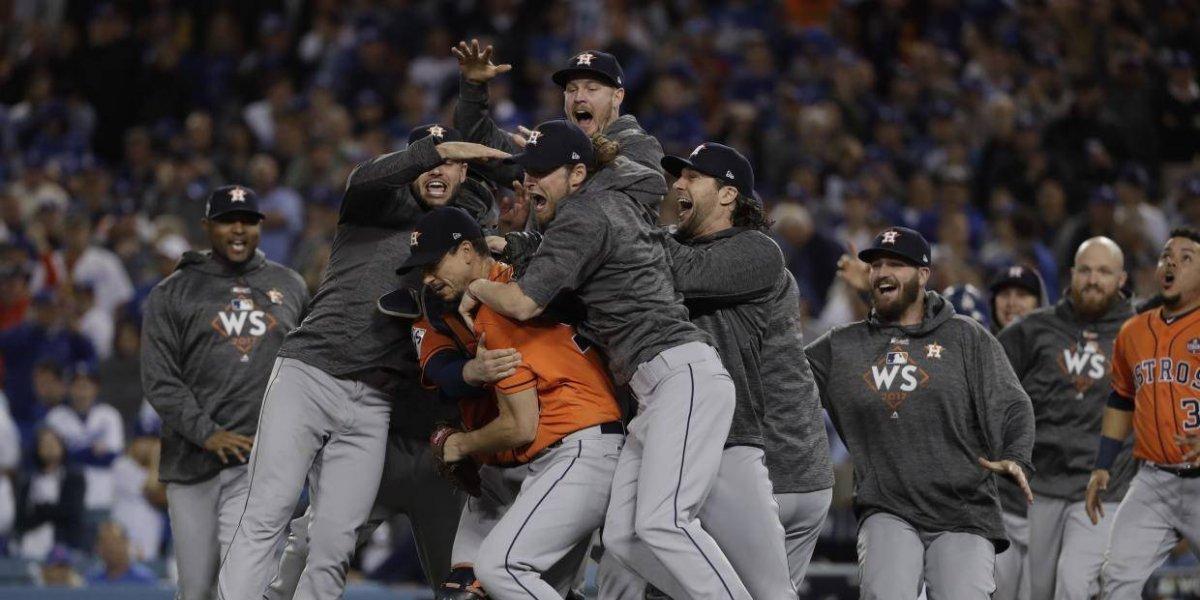 Los Astros de Houston se coronan campeones de la Serie Mundial