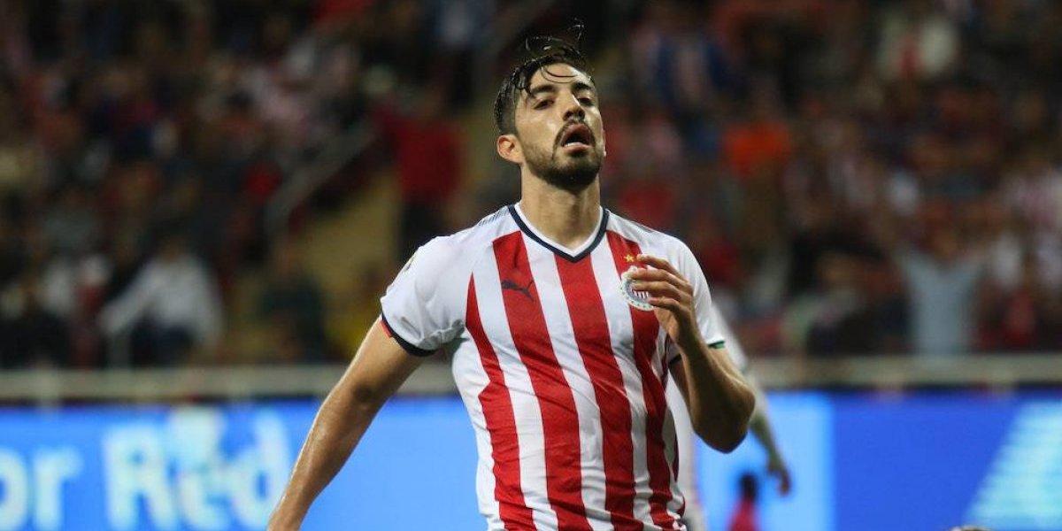 Rodolfo Pizarro se siente culpable por fracaso de Chivas