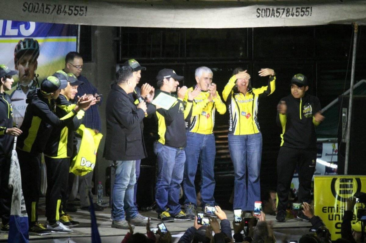 Decorabaños también fue el mejor equipo de la Vuelta.