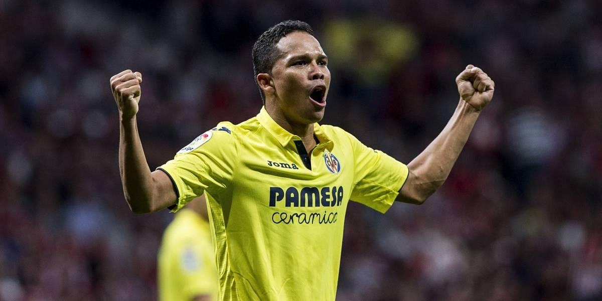 Carlos Bacca anotó en triunfo del Villarreal en la Europa League