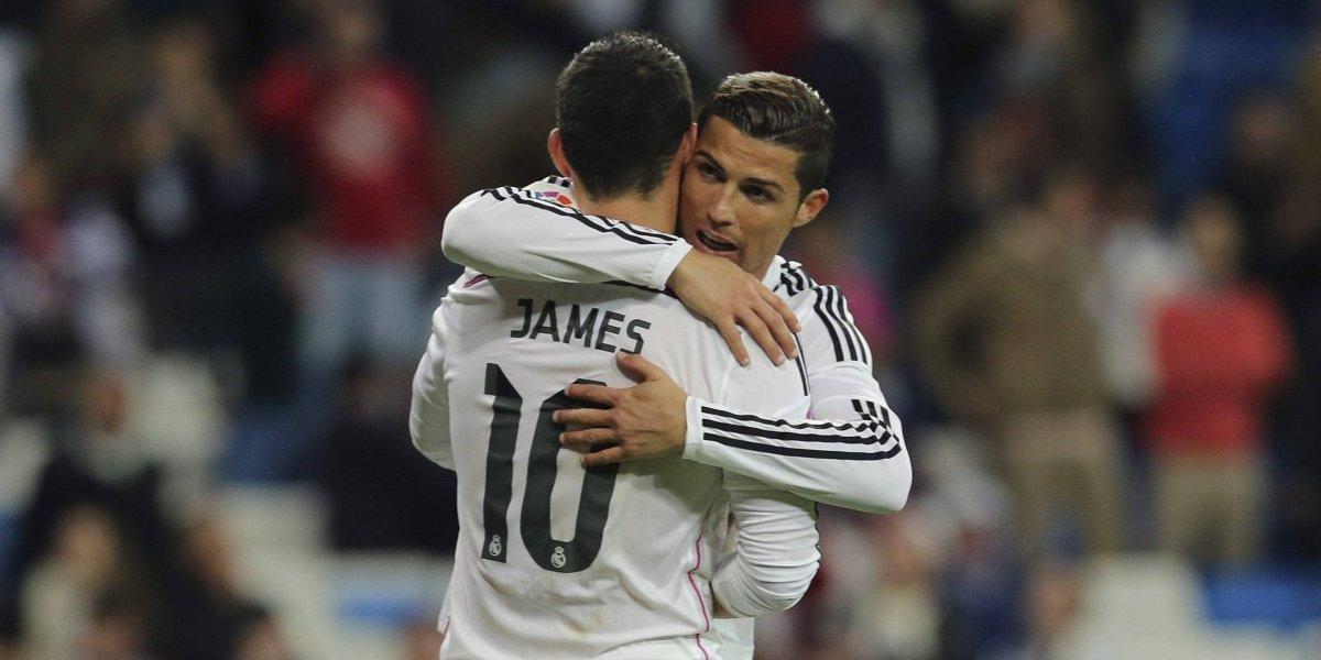 El nombre de James sigue causando problemas en el Real Madrid