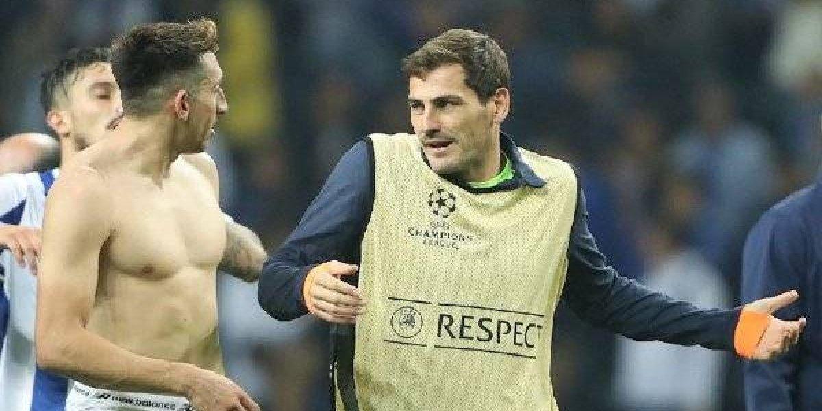 Casillas se burla de Herrera por el gol que anotó con el Porto