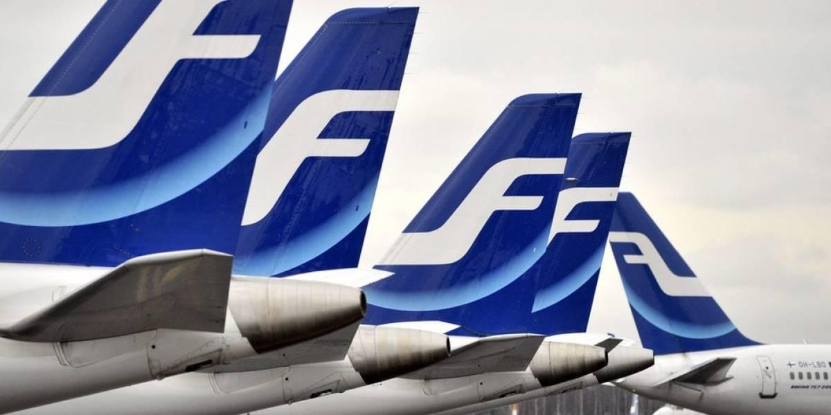 Por qué la aerolínea finlandesa Finnair está pesando a sus pasajeros