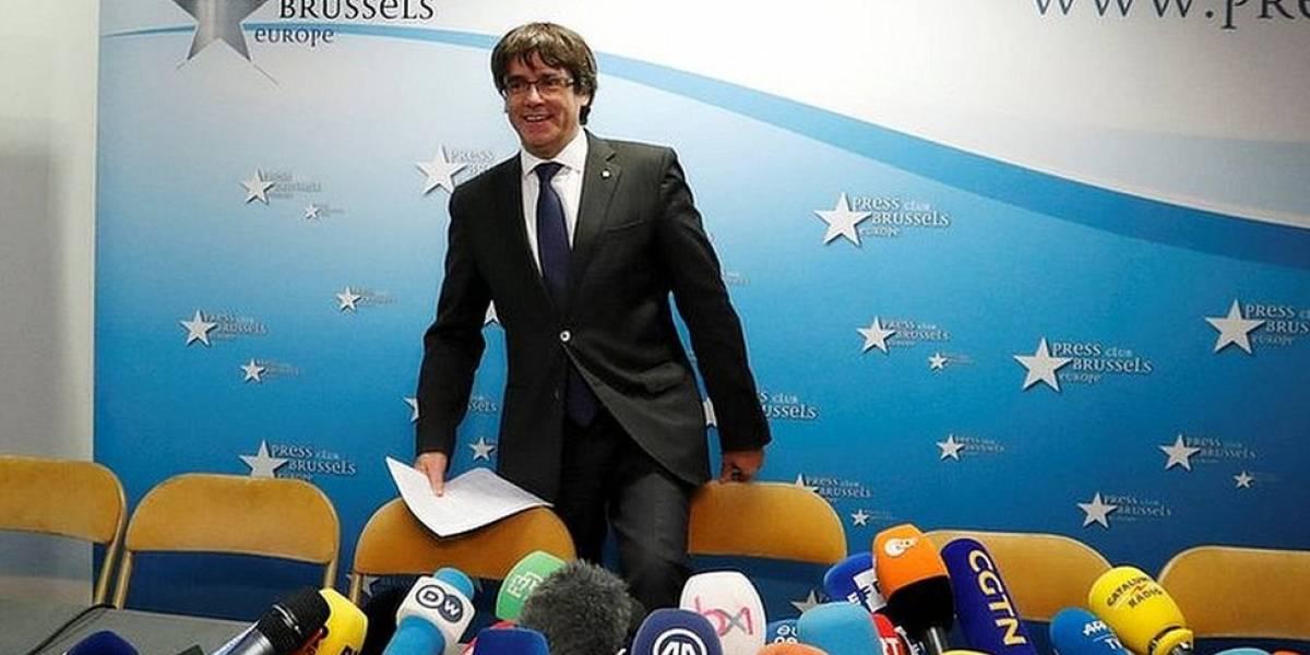 La incómoda posición de Bélgica ante la presencia en su territorio del expresidente de Cataluña Carles Puigdemont