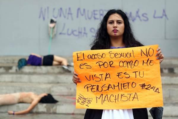 Mujeres desconfían en la denuncia del acoso