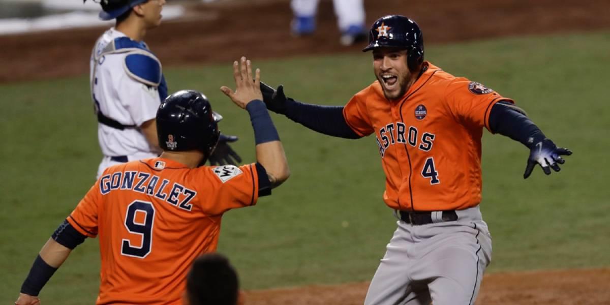 Los Astros se coronan campeones por primera vez en una Serie Mundial