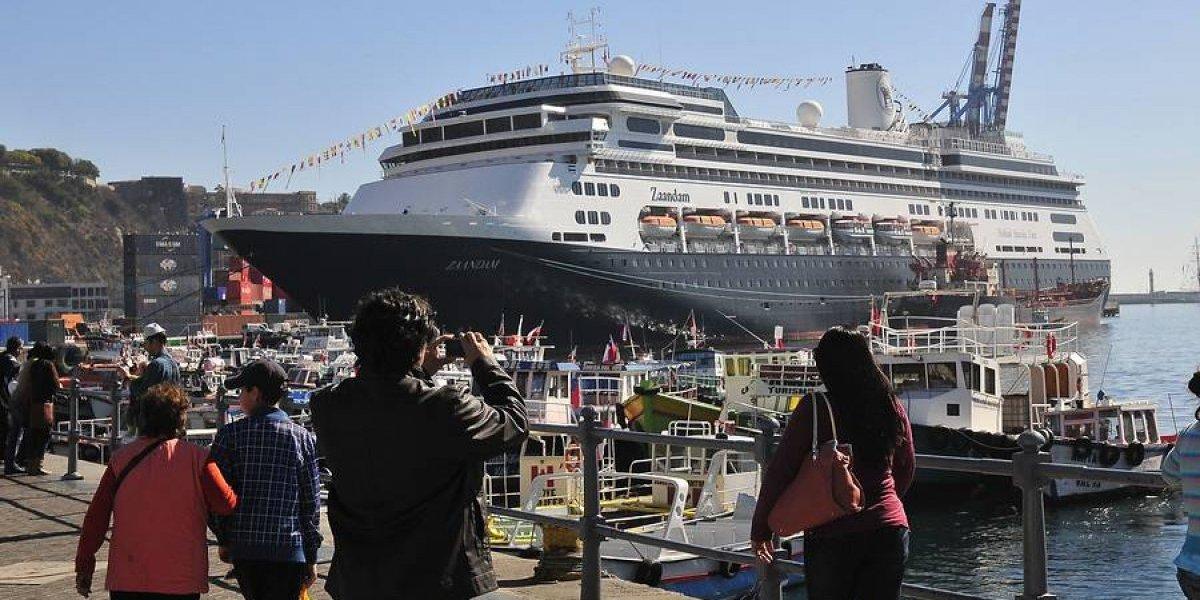 Temporada de cruceros constituye la vitrina de Chile en el turismo internacional