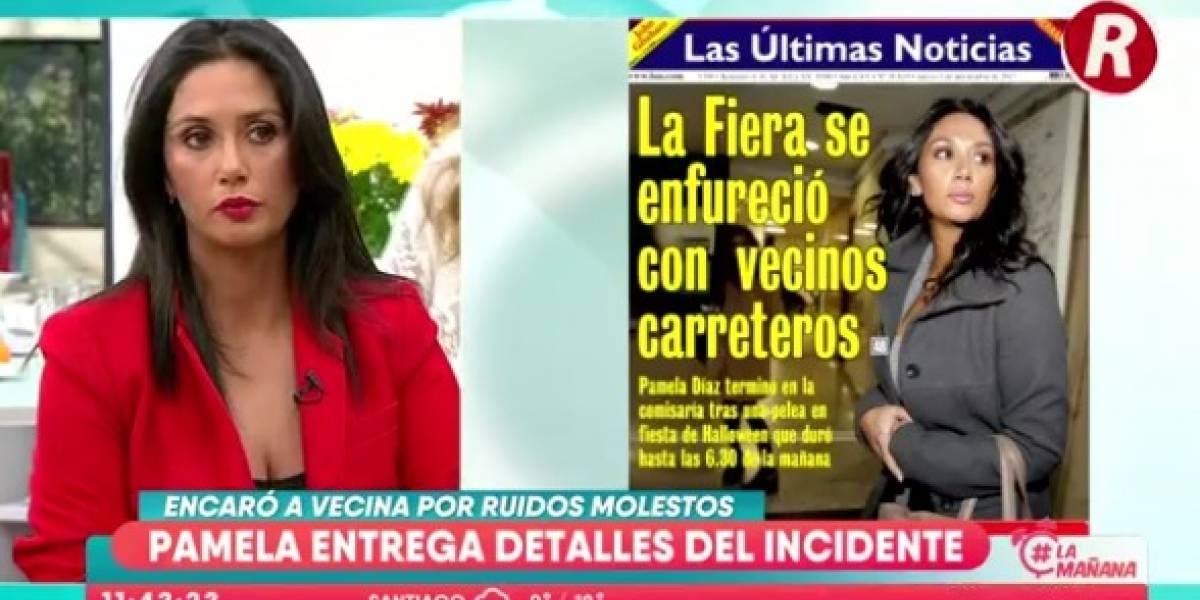 """Pamela Díaz: """"Yo no iba con las ganas de pelear"""""""