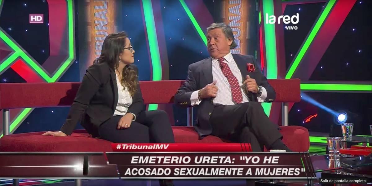 """""""Sí señor, yo he acosado sexualmente"""": La polémica confesión de Emeterio Ureta"""