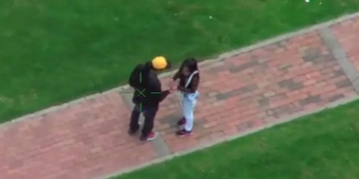 Helicóptero de la Policía encontró la caleta de una delincuente en Bogotá