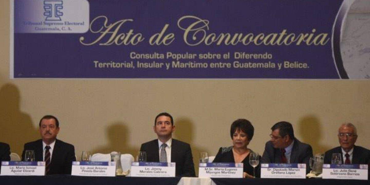 """Guatemala y Belice están en momento """"único"""" para resolver diferendo"""