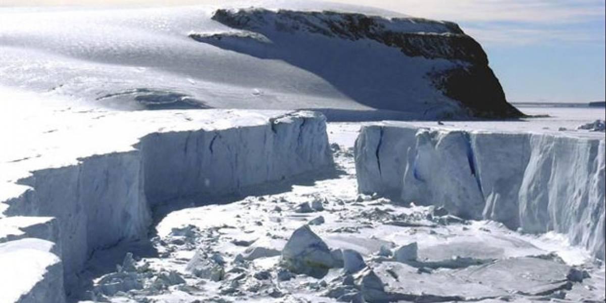 Alerta por deshielo del glaciar más grande de la Antártica: colapso aumentaría nivel del mar 11 metros
