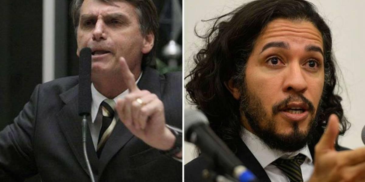 Bolsonaro apresenta queixa por injúria e calúnia contra Jean Wyllys no STF