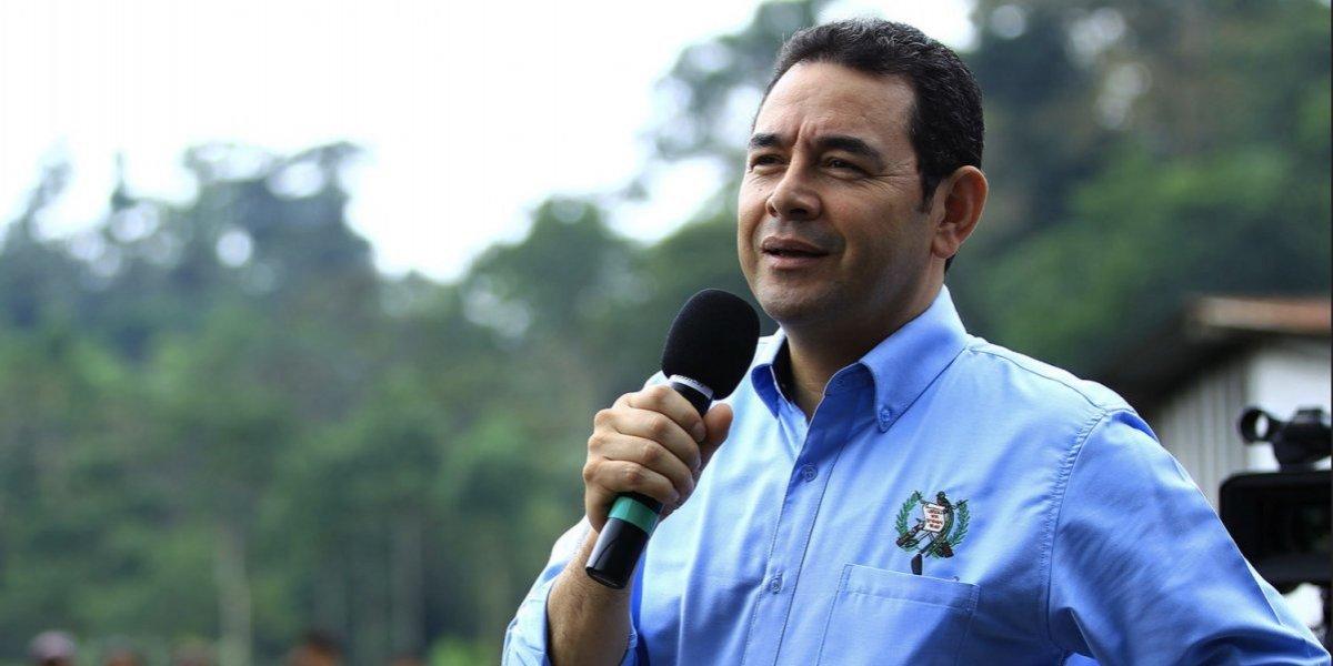 Las ocho frases más polémicas del presidente Jimmy Morales durante el 2017