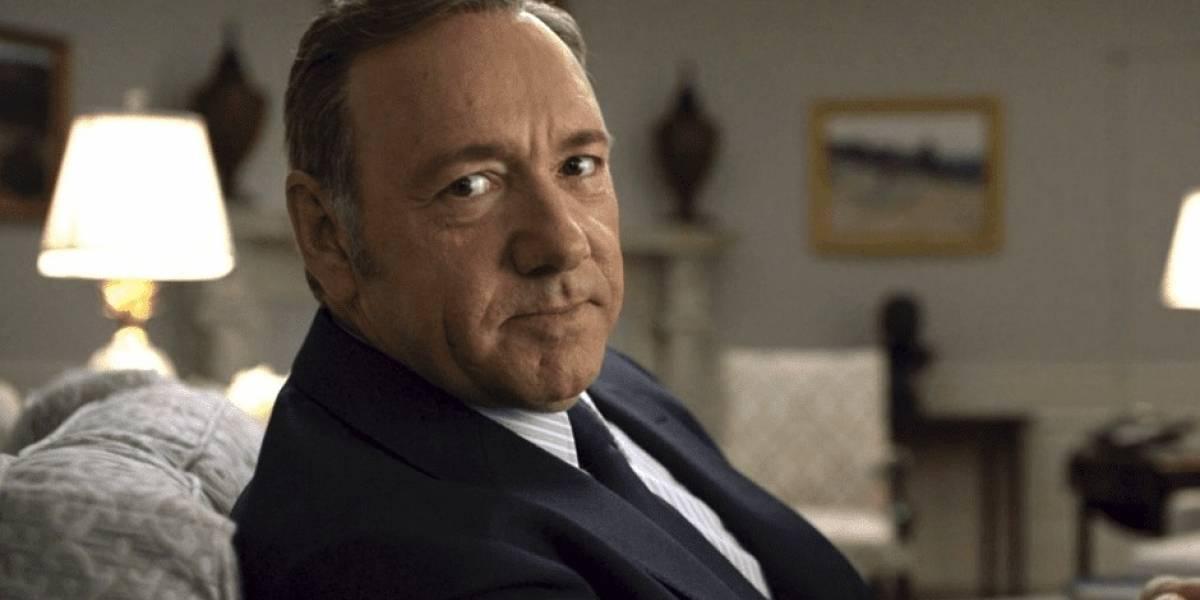 """Final de House of Cards queda en suspenso: Kevin Spacey busca """"tratamiento"""" y frenan rodaje de la última temporada"""