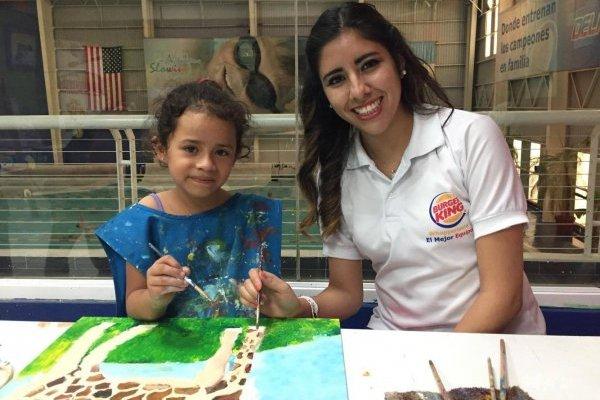 Actividad Niños ayudando niños