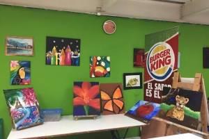 Burger King ayudando niños