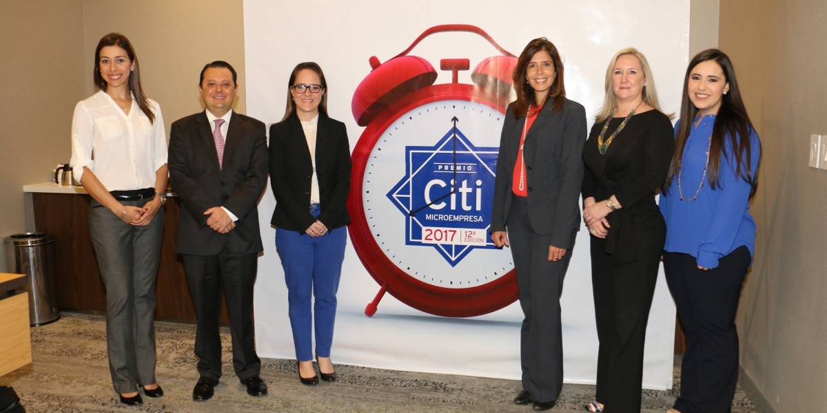 Premio Citi a la Microempresa, un evento que recompensa a jóvenes emprendedores