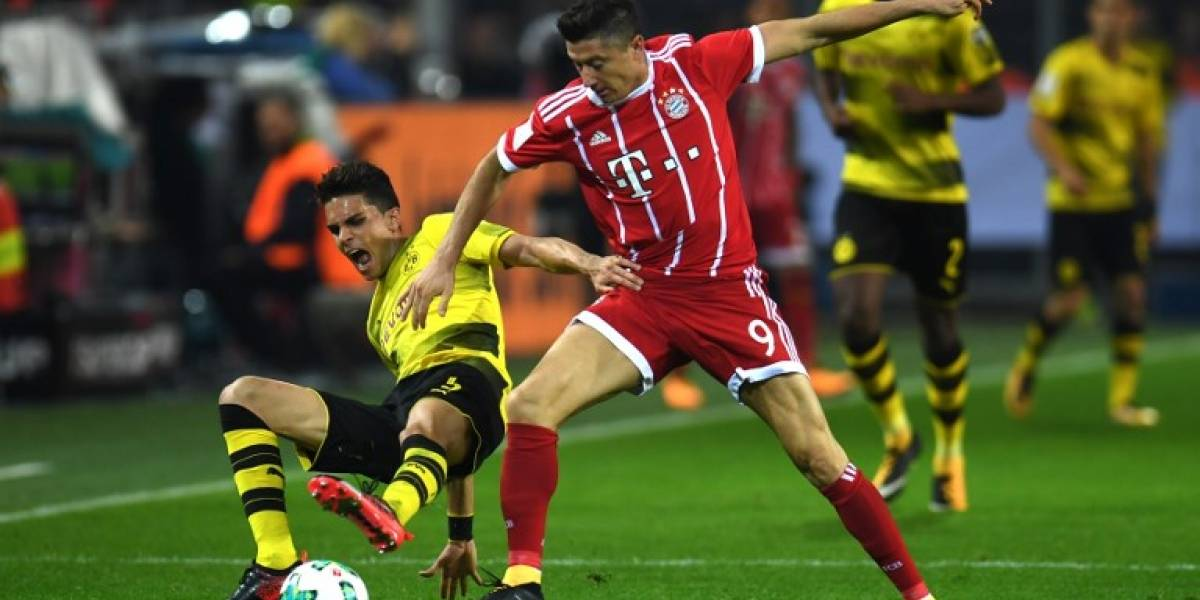 Asistencia de James frente al Borussia Dortmund — Sigue brillando