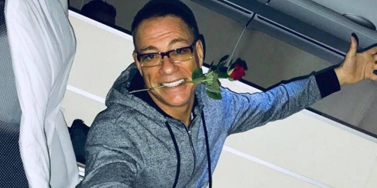 Jean Claude Van Damme bailó como en 'KickBoxer'