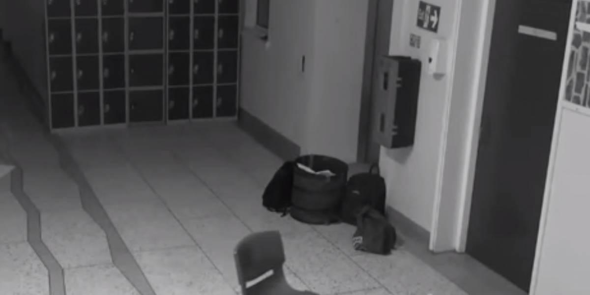 """VIDEO. Captan nueva evidencia de """"actividad paranormal"""" en una antigua escuela"""