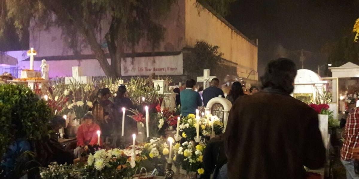 Se desploma 90% de asistencia en Mixquic
