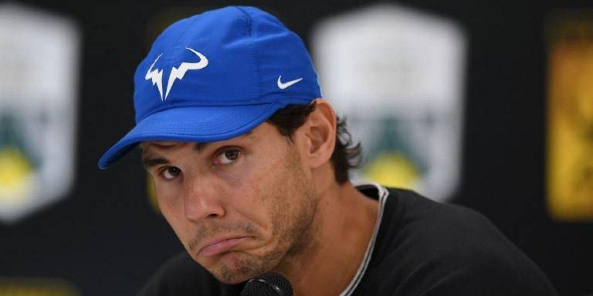 Nadal se retira del Masters 1000 de París y su presencia en Londres queda en duda