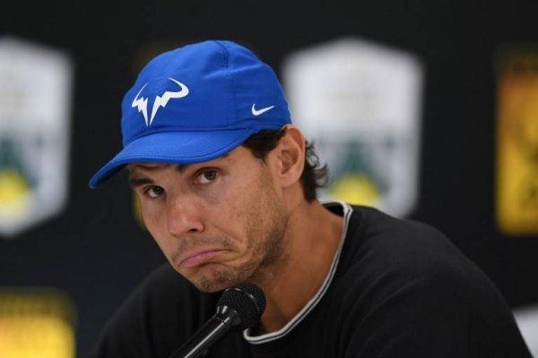 Rafael Nadal quedó en duda para Londres / imagen: AFP