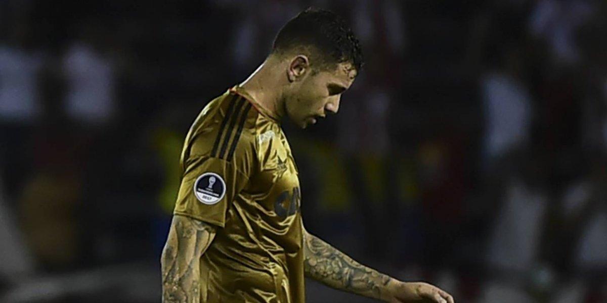 La improvisada posición de Mena no salvó a Sport Recife y la Sudamericana se quedó sin chilenos