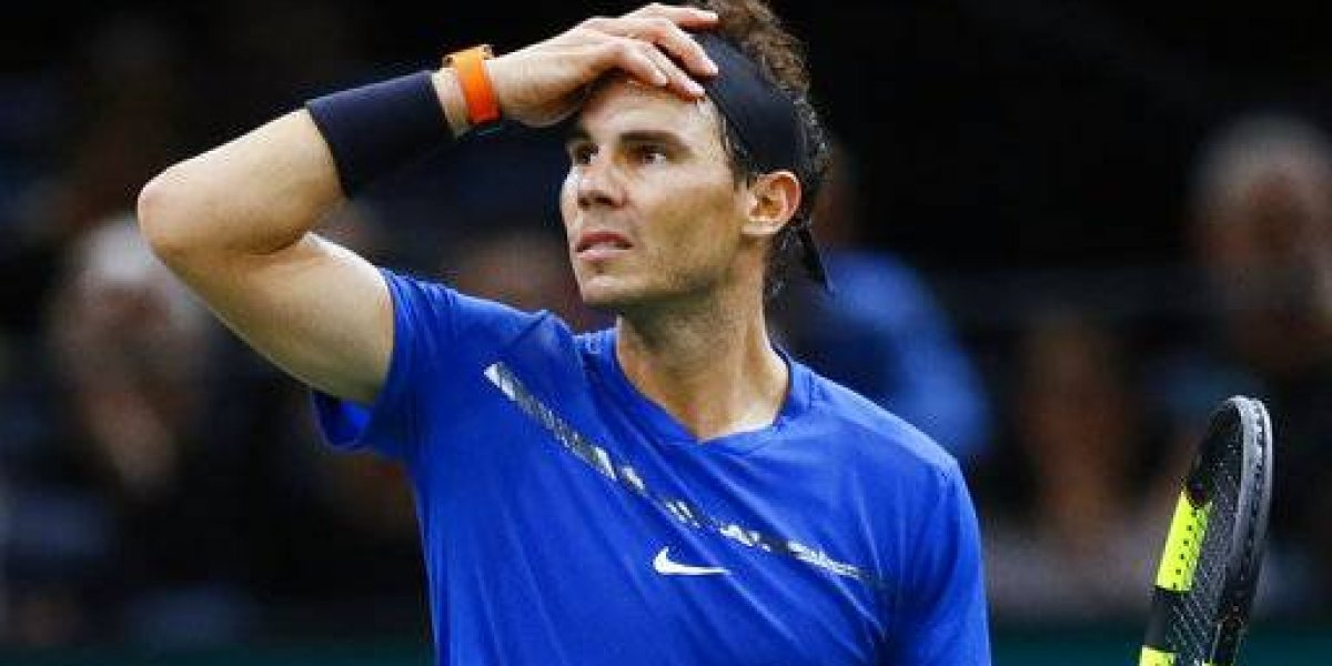 Rafa Nadal abandona Masters de París
