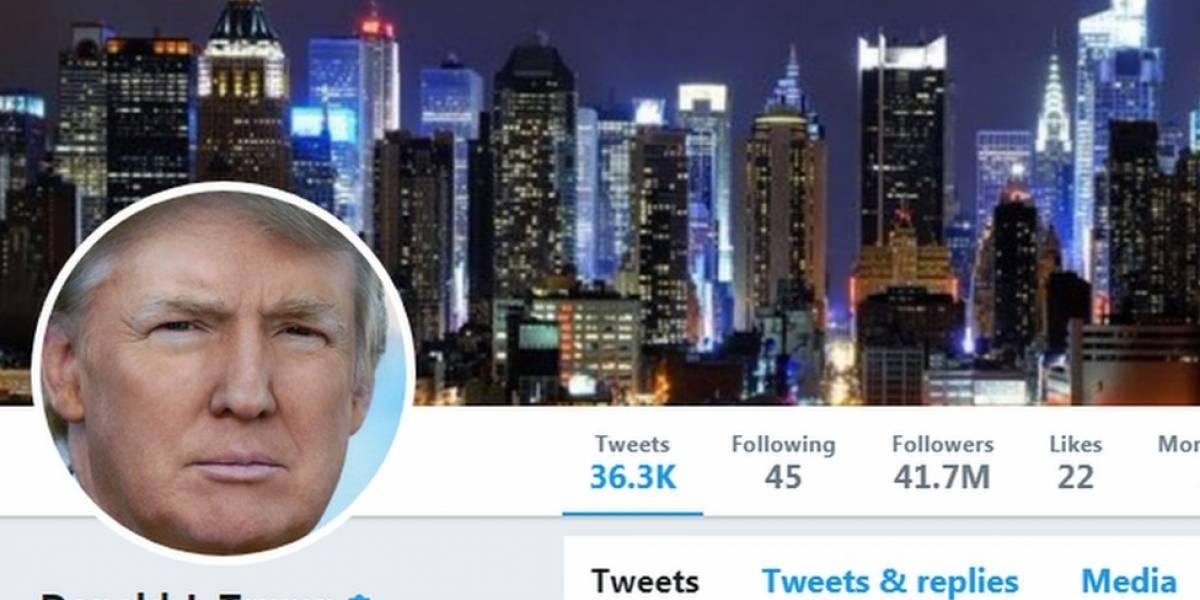 """""""¡Lo siento, esa página no existe!"""": por qué la cuenta de Twitter de Donald Trump desapareció por 11 minutos"""