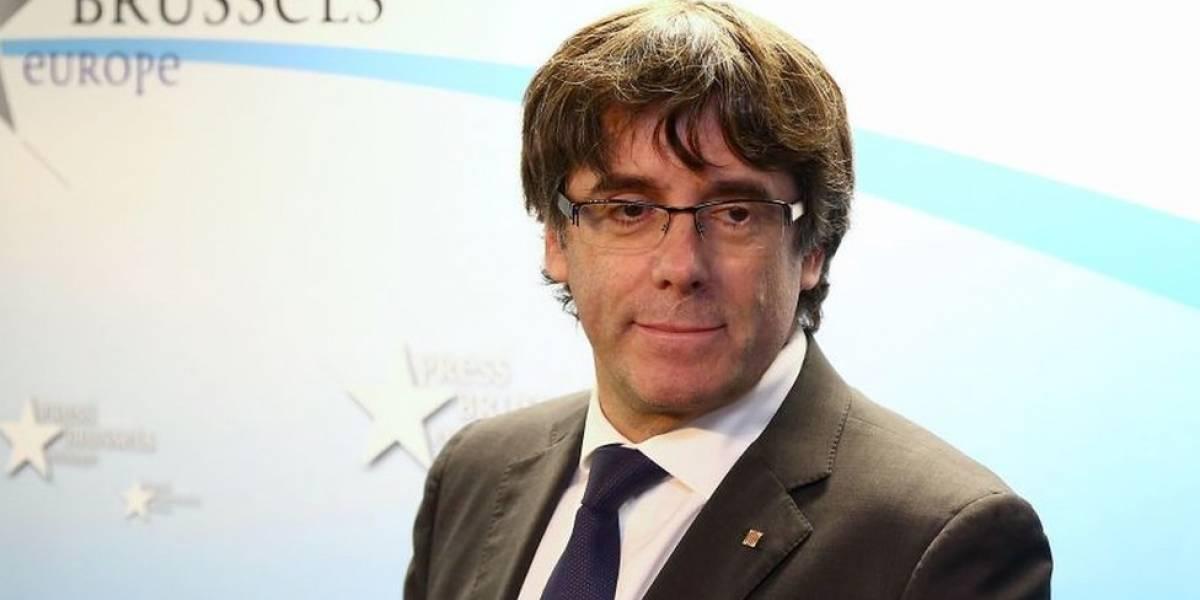 La Justicia de España ordena la detención del expresidente del gobierno de Cataluña, Carles Puigdemont