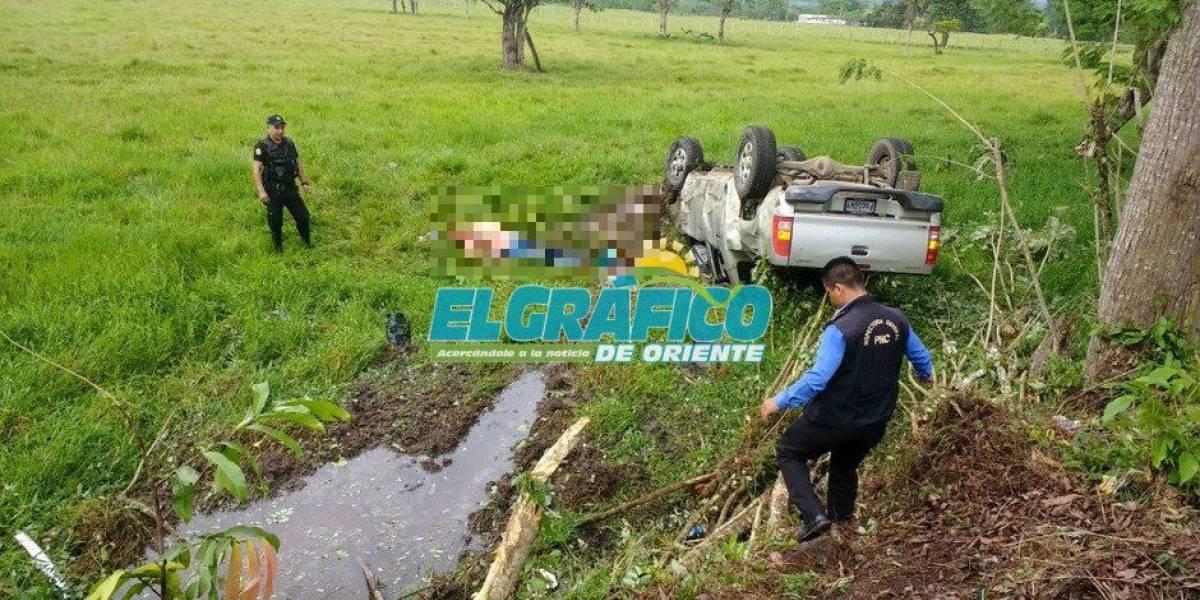 Muere en accidente de tránsito el alcalde de Estanzuela, Julio Girón