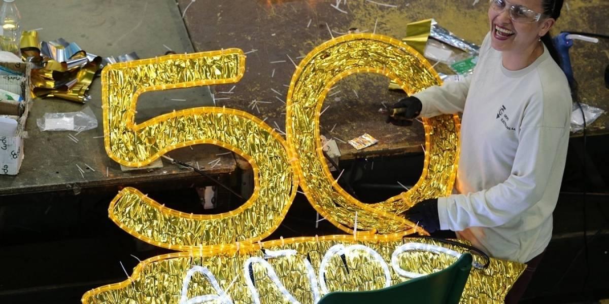 Los alumbrados navideños de Medellín cumplen 50 años de historias