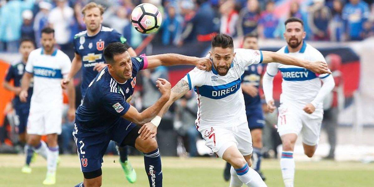 Con Ribery y Buonanotte: el equipo de la UC para enfrentar a San Luis