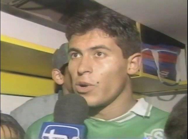 El Negro Almirón declarando como figura del Wanderers de 1995 / Foto: Captura