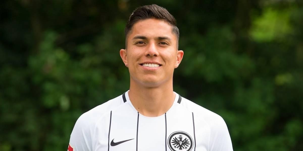 De la mano de Salcedo, el Eintracht saca importante triunfo