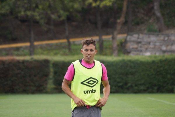Diego Buonanotte se está recuperando / imagen: cruzados.cl